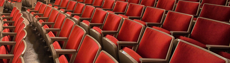 Sièges d'auditorium